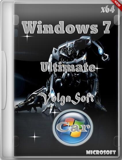 Windows 7 Ultimate SP1 x64 VolgaSoft (Car) v.2.5