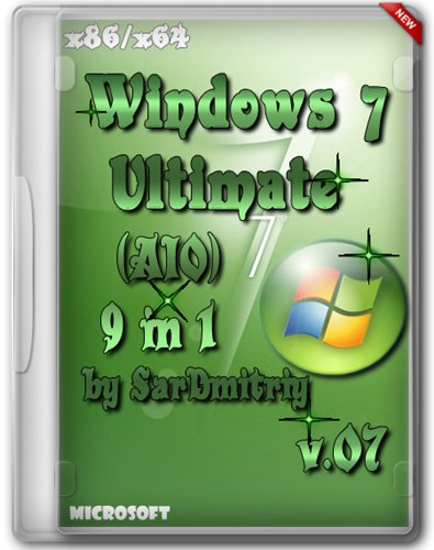 Windows 7 SP1 AIO (9 in 1) x64/x86 by SarDmitriy