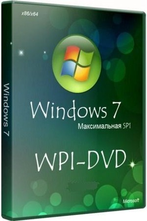 Windows 7 Максимальная SP1 x86/x64 DVD Original WPI