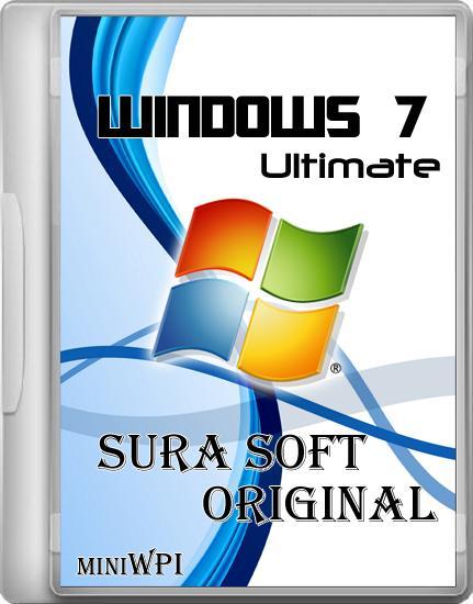 Windows 7 Ultimate x64 SURA SOFT mini WPI