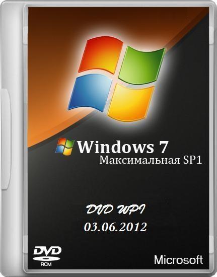 Windows 7 Максимальная SP1 x86/x64 DVD Original WPI