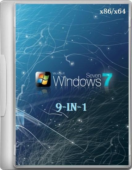 Windows 7 9-In-1 (AIO) 7601 SP1