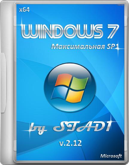 Windows 7 Максимальная by STAD1 v.2.12