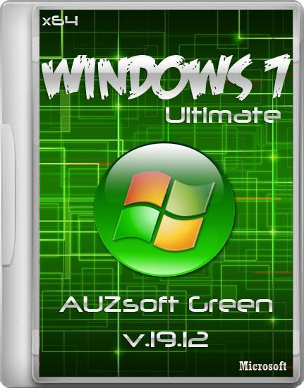 Windows 7 Ultimate AUZsoft Green v.19.12