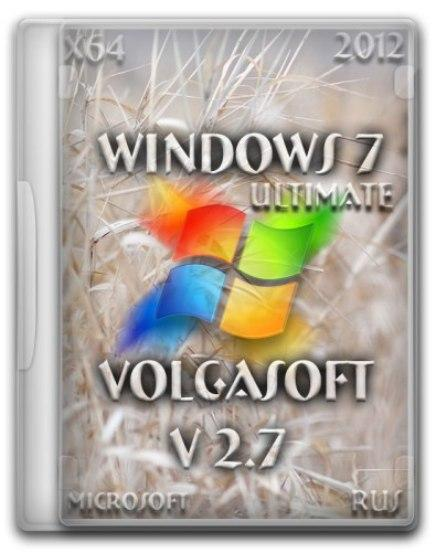 Windows 7 Ultimate SP1 x64 VolgaSoft v 2.7