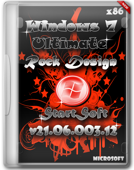 Windows 7 SP1 x86 Plus WPI Rock Design By StartSoft v21.06.003.12
