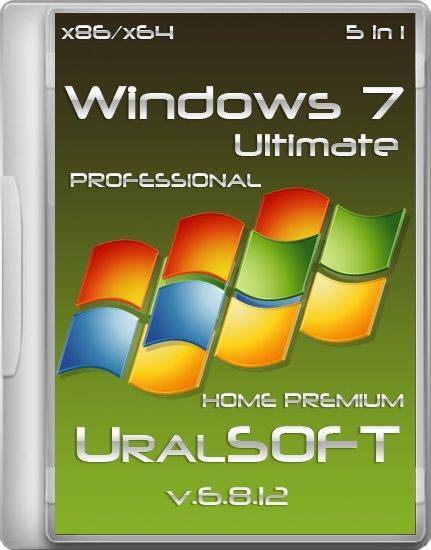 Windows 7 UralSOFT 5 in 1 v.6.8.12