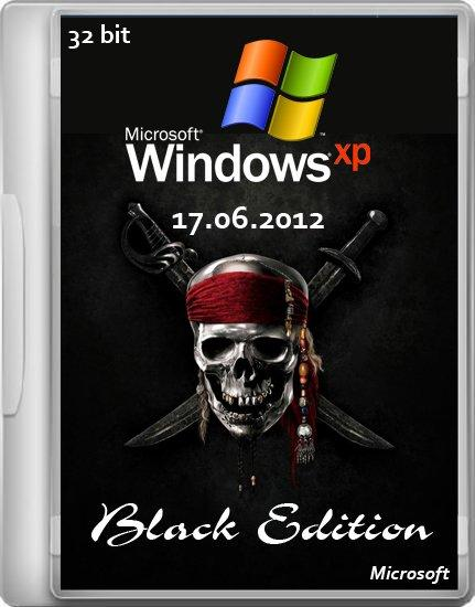 Windows XP Professional SP3 Black Edition