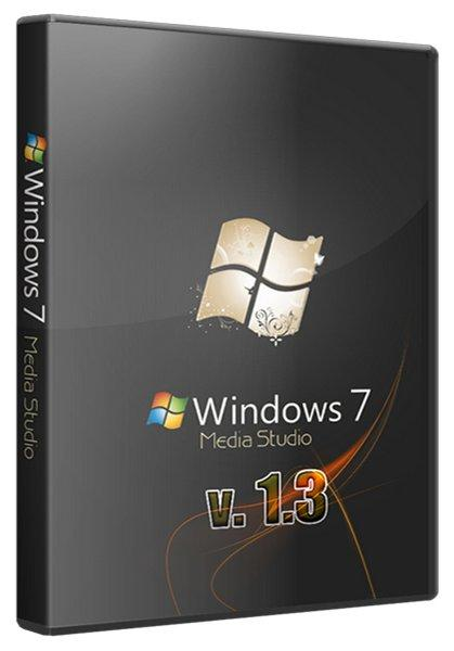Windows 7 Professional SP1 Media Studio by Xomaze v 1.3